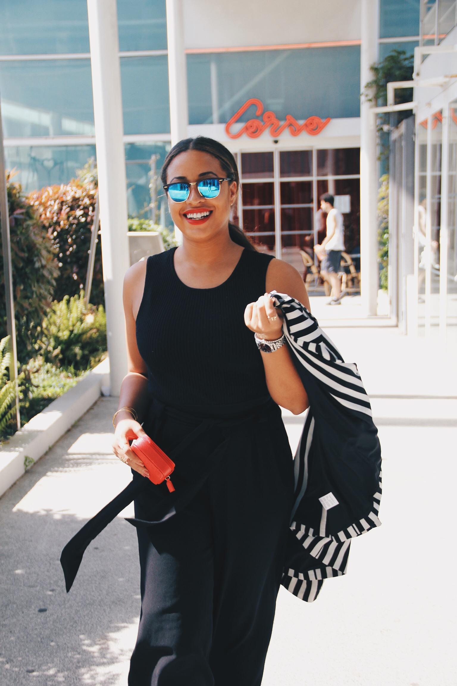 blogueuse noire cici online mode fashion black